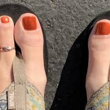photo of poshe nails spa folsom ca united states pumpkin toes
