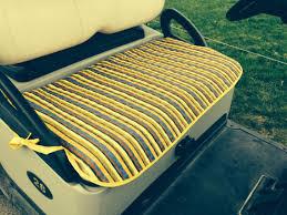 Golf Cart Seat Cover Pattern Amazing Design