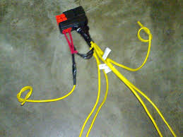 picture of how to make a headlight wiring relay kit