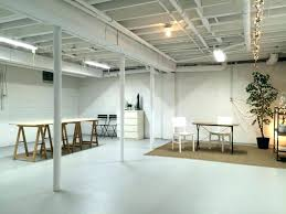 spray paint basement ceiling painted basement ceiling art studio in semi finished spray paint white more spray paint basement ceiling