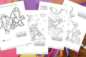 and print ice age colouring in sheets