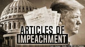 Image result for articles of impeachment