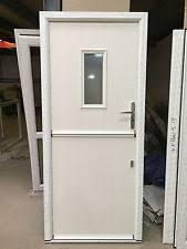 cream le posite door grp le door in synseal upvc door frame 109