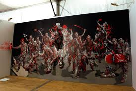 3d paintings go beyond the canvas by shaka