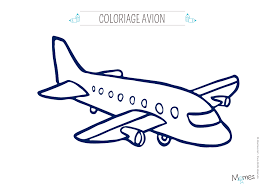 Coloriage Avion Momes Net Coloriage De Avion L