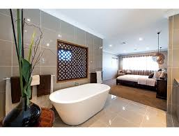 Wonderful We Love The Open Plan Design Of This Bedroom And Bathroom.
