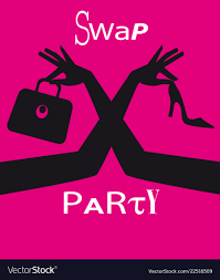 Swap Clothing Party Invite