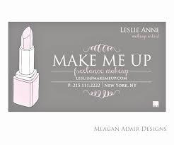 free makeup artist business cards best of freelance makeup artist business cards mamiskincare free card design