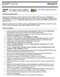 SAP Architect Resume 7