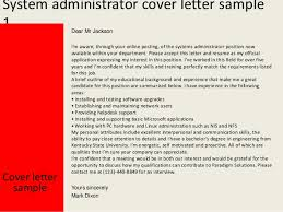Citrix Administrator Cover Letter Sarahepps Com