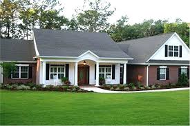 white ranch house attractive ranch house plan with brick and white lap siding and front porch white ranch house