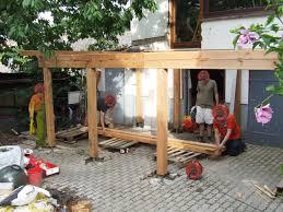 Terrasse Auf Stelzen Haussanierung