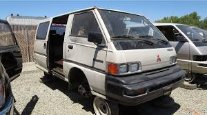 Junkyard Treasure: 1989 Mitsubishi Wagon | Autoweek