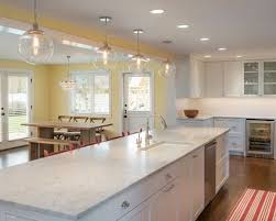 lighting plans for kitchens. Elegant Open Concept Kitchen Photo In Seattle With An Undermount Sink Recessedpanel Cabinets Lighting Plans For Kitchens