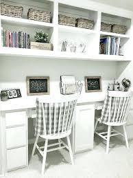 built in desk ideas