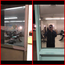 one way window tint at school so we can t see shooters but they can see us