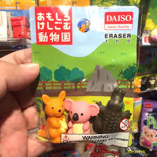 Fairy Lights Singapore Daiso Adorable Daiso Character Erasers Are Tempting