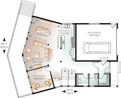house plans with a view. Contemporary Plan With Great Rear View - 21855DR Floor Main Level House Plans A E