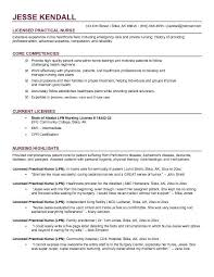 Lpn Resume Template Impressive Free LPN Licensed Practical Nurse Resume Example I Am A Nurse