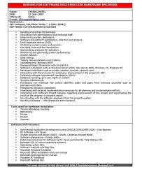resume for it company software engineer resume includes many things about your
