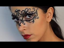 makeup 5 masquerade mask