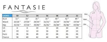 Fantasie Bras Size Chart Rebecca