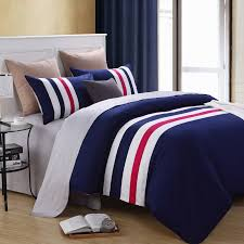 awesome blue and white bedding