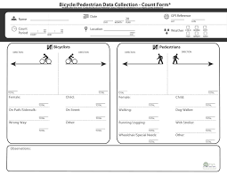 New Ped_bike Count Sheet Harvard Gsd Community Service Fellowship