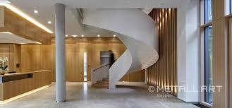 Hochwertige verarbeitung, made in germany, rutschhemmender stufenbelag. Stahltreppen In Modernem Design Metallart Treppen