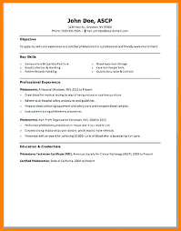 Phlebotomist Resume Examples Awesome 4444 Phlebotomy Resume Example B44l