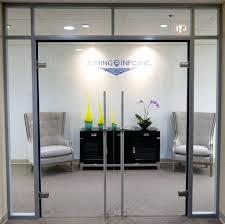 office glass doors. Glass Office Door Double Swing Locking Doors With .