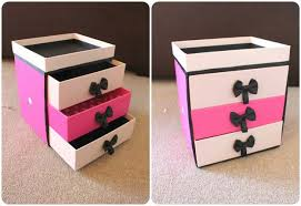 diy makeup organizing ideas make up storage projects for makeup drawer box
