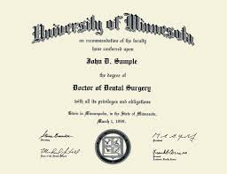 University Of Minnesota Twin Cities Gold Embossed Diploma Frame In