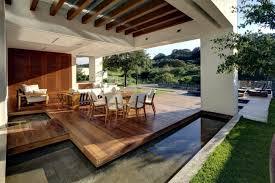 Modern Minimalist Design Terrace