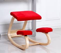 ergonomic kneeling office chairs. Original Ergonomic Computer Desk Kneeling Chair Stool Home Office Furniture Wood Posture Support Design-in Chairs From