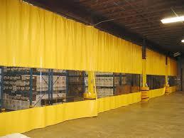 heat sealed industrial curtains rf