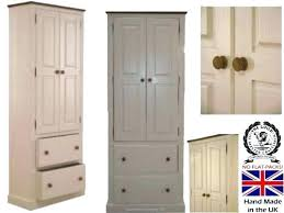 wooden pantry wood storage pantry solid wood storage cabinet tall white painted waxed pantry larder wooden