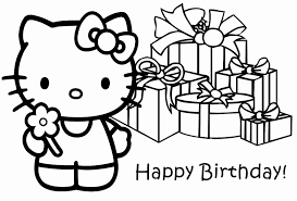 They help me celebrate your special day! Hello Kitty Birthday Coloring Pages Best Coloring Pages For Kids
