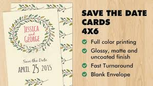 Blank Save The Date Cards Save The Date Card 4x6 Save The Date Cards Printpapa