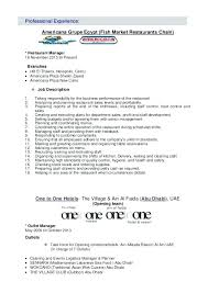 Restaurant Manager Resume Objective Assistant Manager Resume Objective Restaurant Manager Resume