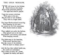 the open window a poem by henry wadsworth longfellow  the open window a poem by henry wadsworth longfellow 1850 beautiful words henry wadsworth longfellow poem and poet