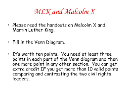 Differences Between Mlk And Malcolm X Venn Diagram Malcolm X Venn Diagram 22 Wiring Diagram Images Wiring Diagrams