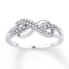 infinity wedding rings. diamond infinity ring 1/10 ct tw round-cut sterling silver wedding rings e