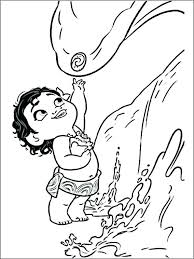 Disney Printable Coloring Pages Moana Printable Coloring Pages
