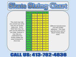 61 Explanatory Ice Hockey Skate Size Chart