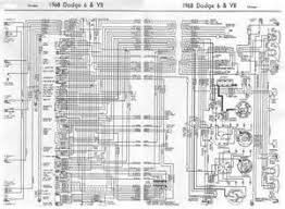 1968 dodge dart wiring diagram 1968 wiring diagrams online dodge charger 1968 6 and v8 complete electrical wiring diagram all