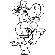 Small Picture Coloring Pages Dancing Animals Coloring Pages