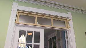 DIY Building A Transom Window YouTube - Exterior transom window
