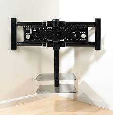 corner tv wall mount with shelves4 jpg