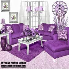 Purple Decorations For Living Room Purple Living Room Best White Ideas With Furniture And Velvet Sofa